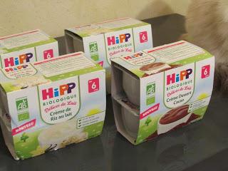 4 nouveaux desserts lactés Hipp Biologique pour ravir les papilles…