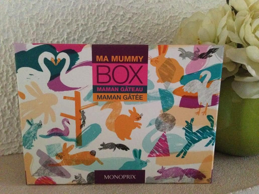 Conquise par la Mummy Box de Monoprix !